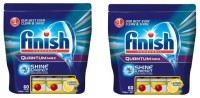 Finish Quantum Max 60 Tablets Set Of 2 Dishwashing Detergent(120 Pod)