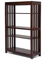 Urban Ladder Alexandria Solid Wood Display Unit(Finish Color - Mahogany)