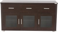 Godrej Interio Expo Large Engineered Wood Display Unit(Finish Color - Walnut)