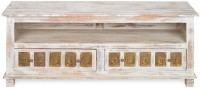 @home by Nilkamal Buddha Solid Wood TV Entertainment Unit(Finish Color - NA)
