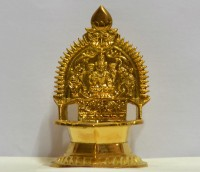 Murugan Stores Kamakshi Amman Vilaku Brass Table Diya(Height: 5.75 inch)