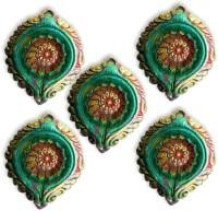Anant Terracotta Table Diya Set(Pack of 5)