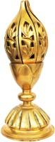Aakrati Worship Diya Brass Table Diya(Height: 9.5 inch)