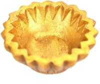 Aakrati Decorative Handmade Circle Brass Table Diya(Height: 1 inch)