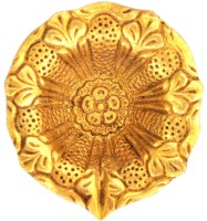 Aakrati Frightening & Amazing Brass Table Diya(Height: 1 inch)