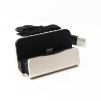 Shopizone Type C Mobile Charging + Sync Dock(Gold, Black)