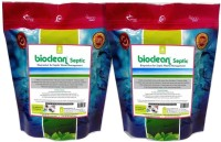 Bioclean Septic Effective organic powder for septic tanks Powder Drain Opener(500 g, Pack of 2)
