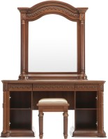 Durian EVERETT/DRE Engineered Wood Dressing Table(Finish Color - Cherry)