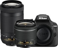 Flipkart Republic Day Sale, Offers 2019: Check Flipkart Offers Right Away - Nikon D3400 DSLR Camera Body with Dual Lens: AF-P DX NIKKOR 18-55 mm f/3.5 - 5.6G VR + AF-P DX NIKKOR 70-300 mm f/4.5 - 6.3G ED VR (16 GB SD Card + Camera Bag)(Black) Flipkart Deal