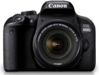 Canon EOS 800D DSLR Camera (Body Only) (16 GB SD Card + Camera Bag)(Black)