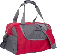 Outshiny Pure_Red Travel Duffel Bag(Red)
