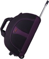 F Gear 2391a 20 inch/50 cm Travel Duffel Bag(Black, Purple)
