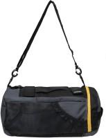 Gear New Maxis Duffel Cum Backpack 18 inch/45 cm Gym Bag(Grey, Yellow)