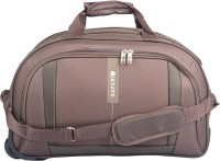 Safari 22 inch/55 cm Revv Rdfl Duffel Strolley Bag(Brown)