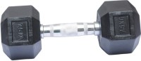 Biceps Triceps Hexagonal Fixed Weight Dumbbell(7.5 kg)