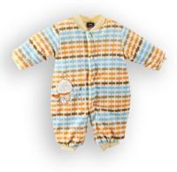Lilliput Romper For Boys Printed Cotton(Orange)