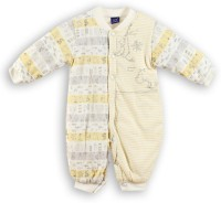 Lilliput Romper For Boys Printed Cotton(Yellow)