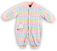 Lilliput Romper For Boys Printed Cotton(Pink)