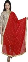 DUPATTA BAZAAR Chiffon Embroidered Women Dupatta