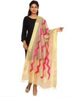 Kataan Bazaar Tussar Silk Woven Women Dupatta