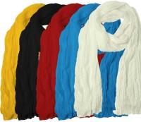 Javuli Cotton Solid Womens Dupatta