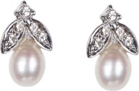 Taj Pearl Fancy Fashion Pearl Alloy Stud Earring