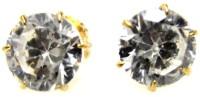Poddar Jewels Designer Cubic Zirconia Alloy Stud Earring