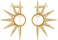 the jewelbox Golden Sun Copper Clip-on Earring