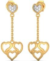 BlueStone Adora Drop Yellow Gold 18kt Diamond Drop Earring