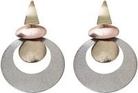 Taj Pearl Elegant Alloy Chandbali Earring