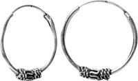 abhooshan 925 Sterling Silver Hoop Earring