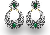 SuvidhaArts Diva Fashion Brass Chandbali Earring