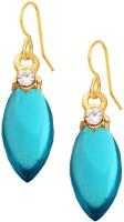 Being Women Elegant Blue Fashion Alloy Drops & Danglers