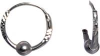 abhooshan Sterling Silver Hoop Earring