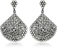 SuvidhaArts Contemporary Fashion Cubic Zirconia Brass Drops & Danglers