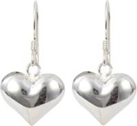 abhooshan Tender Heart Sterling Silver Drops & Danglers