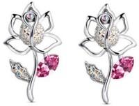 GirlZ! Lotus Flower Alloy Stud Earring