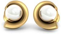 BlueStone The Ava Yellow Gold 14kt Pearl Stud Earring