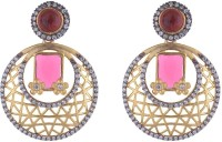 the jewelbox Cubic Zirconia Brass Drops & Danglers