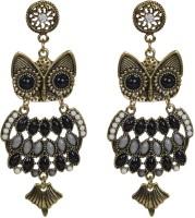 Taj Pearl Designer Owl Alloy Drops & Danglers
