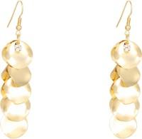 1976 Jewels Gold Leaf Alloy Drops & Danglers