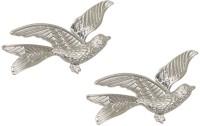 Taj Pearl Stylish Bird Alloy Stud Earring