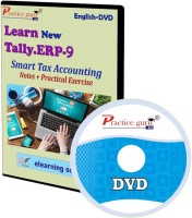 Practice guru Tally ERP 9 Smart Tax Accounting Notes + Practical Exercise(CD)