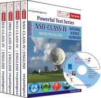 Practice Guru Class 4 - Combo Pack (IMO / NSO / IEO / NCO) Test Series(CD)