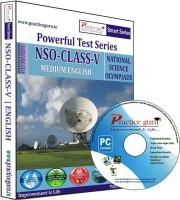 Practice Guru Powerful Test Series NSO Medium English (Class - 5)
