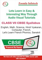 Zoomla Infotech Class 7 CBSE English, Maths, Science, Computer, Hindi Vyakaran, French, Let