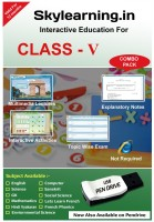 Skylearning.In CBSE Class 5 PenDrive Combo Pack (English, Maths, Science, SSt, EVS, Hindi Vyakaran,