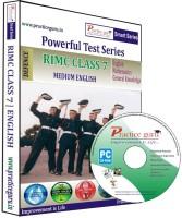 Practice Guru Powerful Test Series RIMC Medium English (Class 7) - Price 599