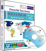 Practice Guru Powerful Test Series IEO Medium English (Class - 3) - Price 540