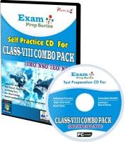 Practice guru Exam Prep For Class 8 - Combo Pack (IMO / NSO / IEO / NCO)(CD)